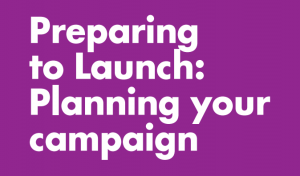 Crop Preparing to launch Planning your campaign