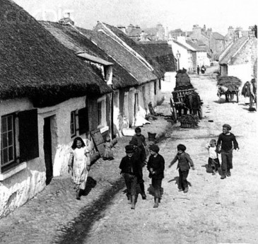 Authentic Claddagh thatched cottage
