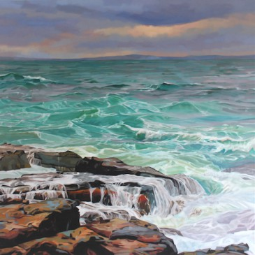 WaveForm  New Seascapes by Kevin Lowery