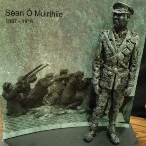 Seán Hurley 1916 Commemorative statue