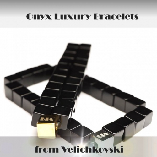 SUPERIOR QUALITY LUXURY ONYX BRACELETS