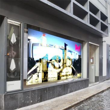 Large-Scale Dedicated Digital Art Screen