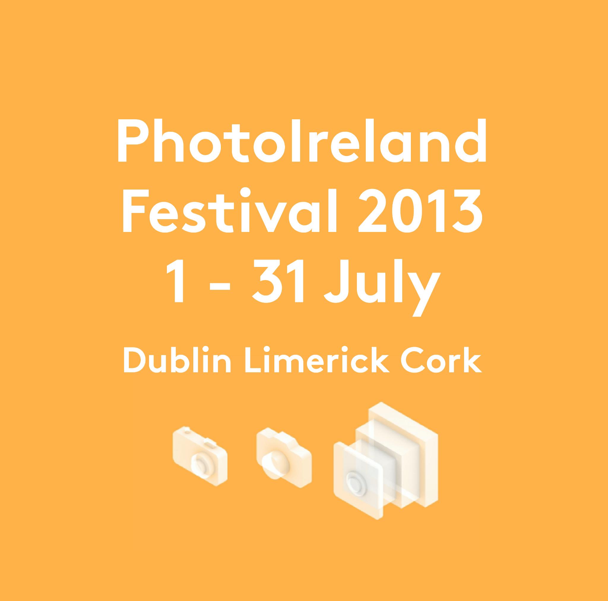 Catalogue for PhotoIreland Festival 2013