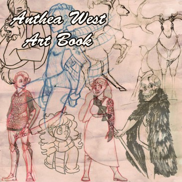 Anthea West Art Book