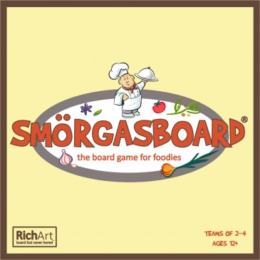 SMÖRGASBOARD - a board game for foodies