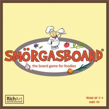 SMÖRGASBOARD - a board game for foodies