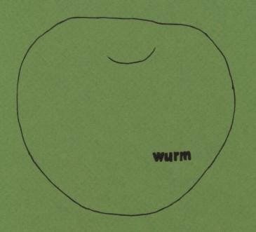 Wurm im Apfel Poetry: Autumn 2011